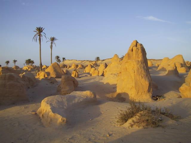 Pyramides tunisienne