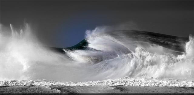 Quand l'océan se déchaine