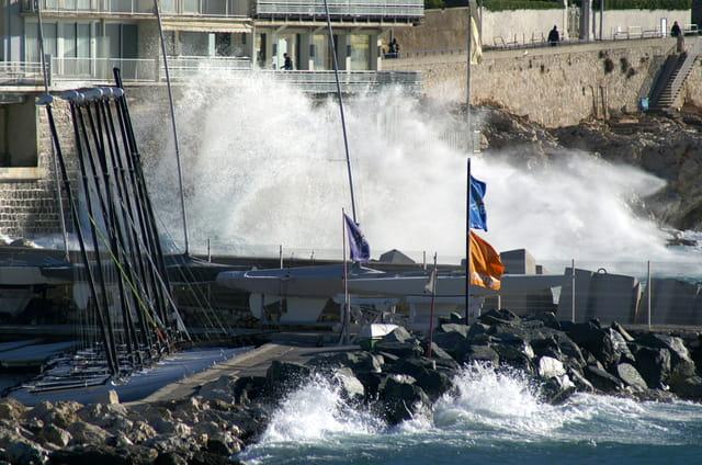 Quand la mer s'invite sur les terrasses
