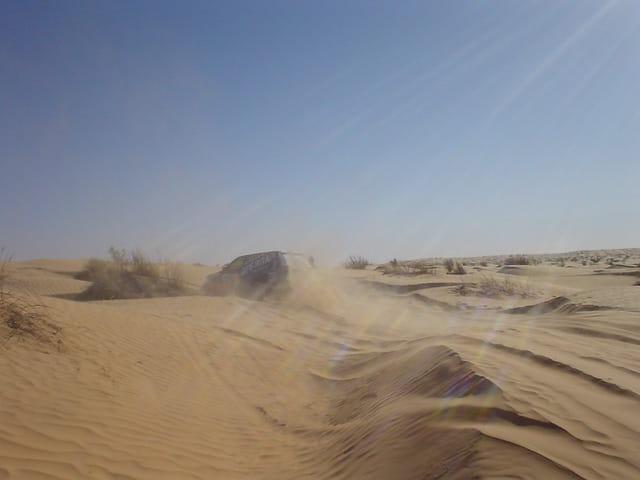 Quand t'es dans le désert....