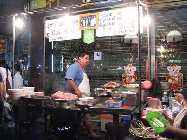 Quartier chinois de bangkok