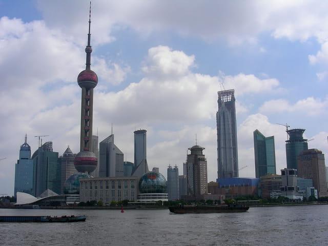 Quartier des affaires de Shanghai