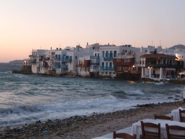 Quartier Venise de Mykonos
