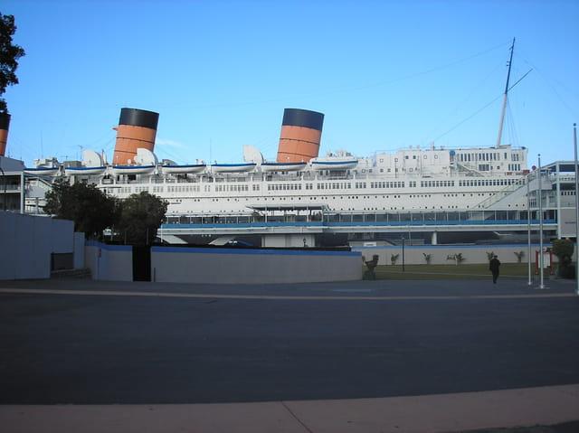 Queen mary au port de long beach