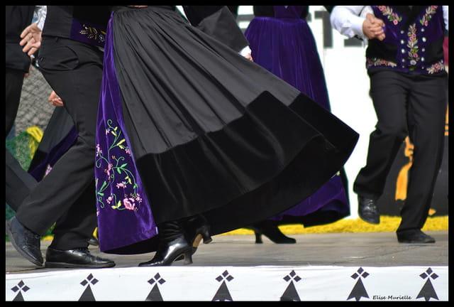 Quelques pas de danse...