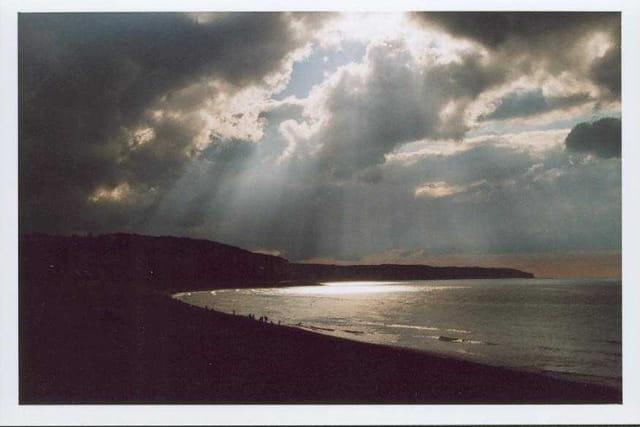 Rais de soleil sur la mer