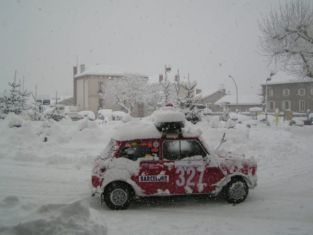 Rallye sous la neige