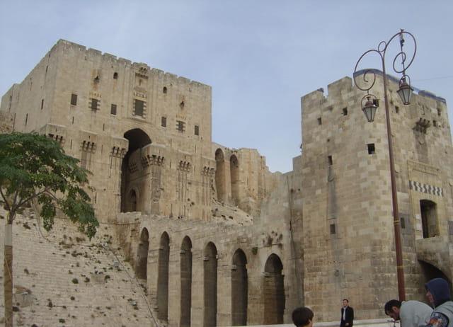 Rampe d'accès de la citadelle