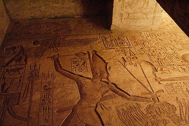 Ramsès II en guerrier