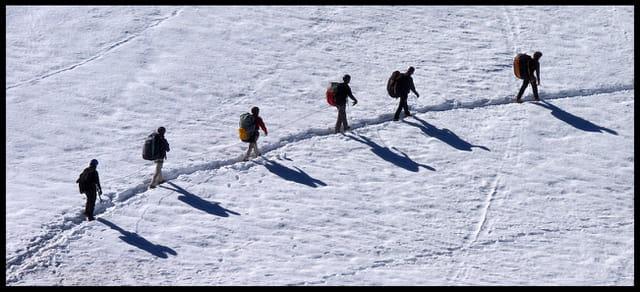 Randonnée dans le massif du Mont-Blanc