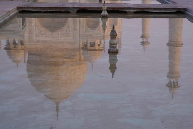 Reflet Taj Mahal