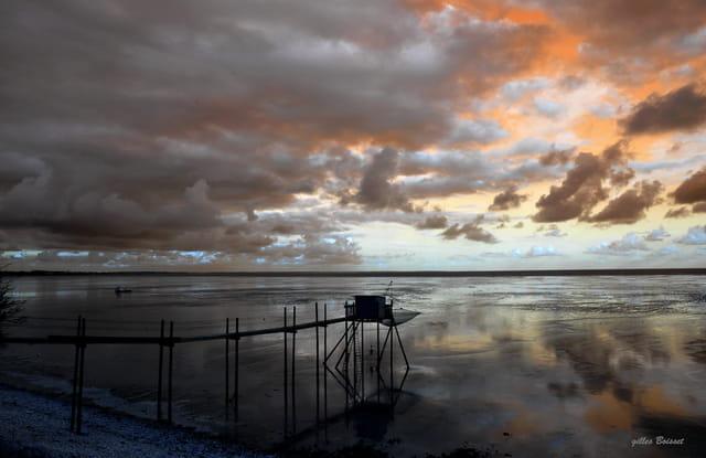 reflets d'hiver sur l'Aiguillon