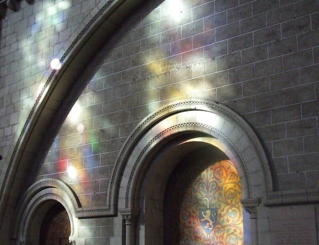 Reflets de vitraux