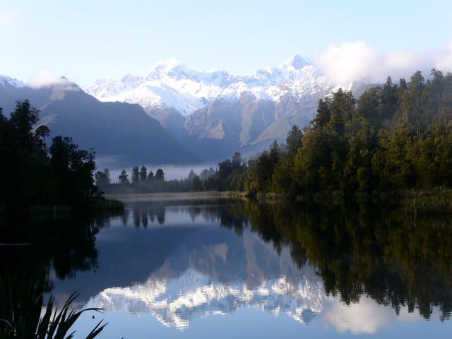 Moment paisible au lac Matheson