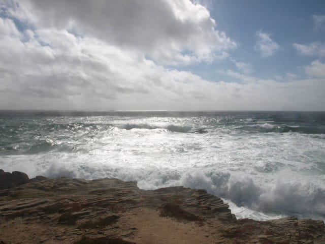 Reflets sur l'océan