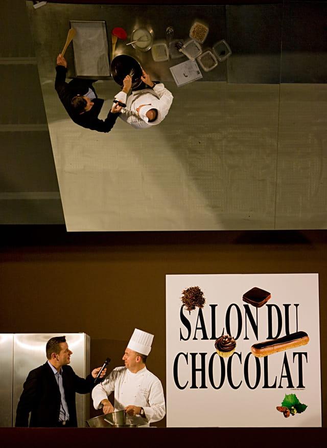 Reflexion et chocolat