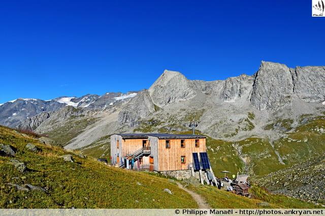 Refuge de Péclet-Polset (Vanoise)