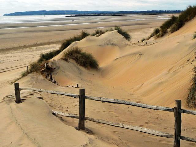 Rencontre du sable et de l'eau