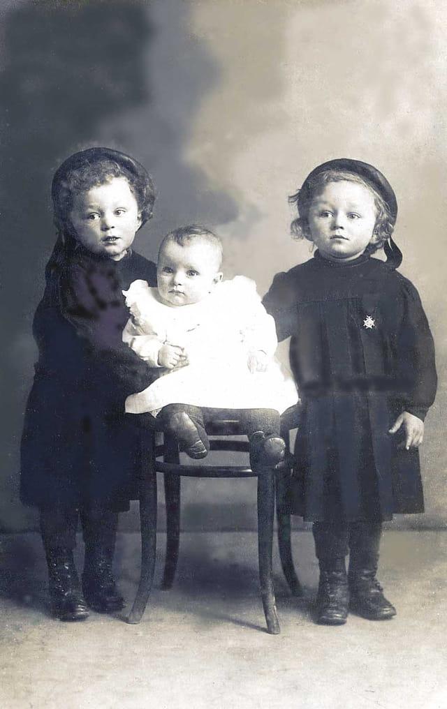 René, marcel et achille