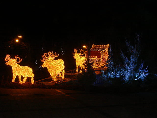 Rennes du Père Noël en 2006
