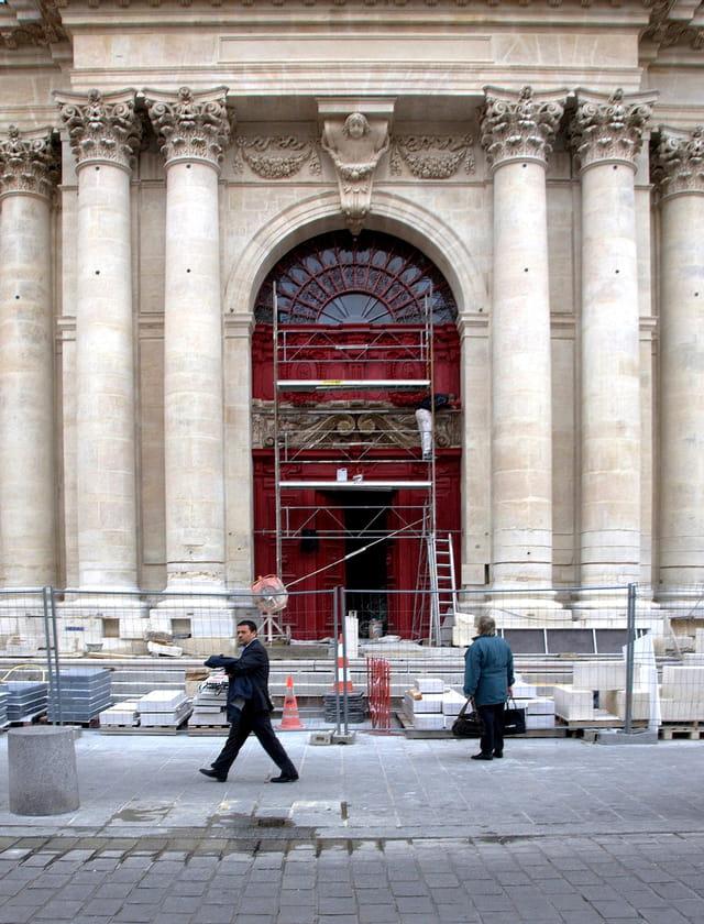 Rénovation de l'église Saint Paul Saint Louis