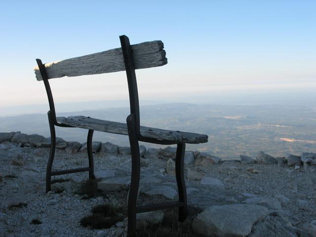 Repos au mont ventoux