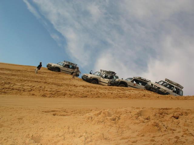 Repos sur la dune