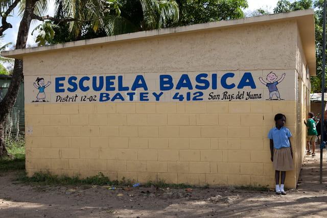 ecole élémentaire, République Dominicaine