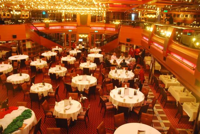 restaurant le New York sur le Costa Pacifica