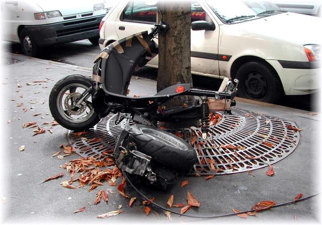Restes de scooter