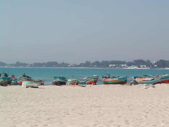 Rêverie sur la plage d'Hammamet