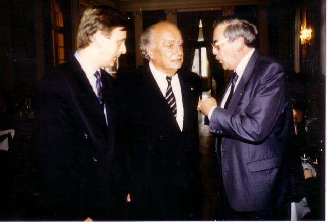Mr Robert-André Vivien et Pascal Noble