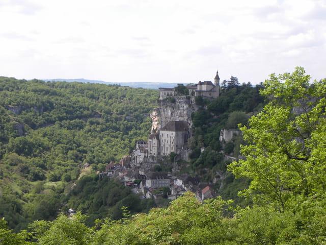 Rocamadour village
