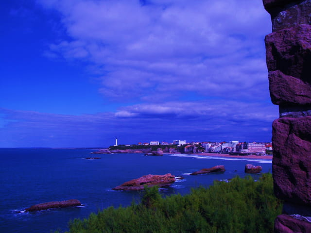 Rochers de Biarritz.