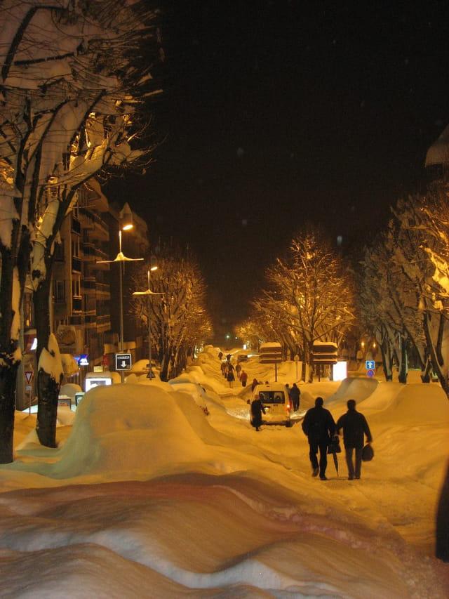 Rodez sous la neige
