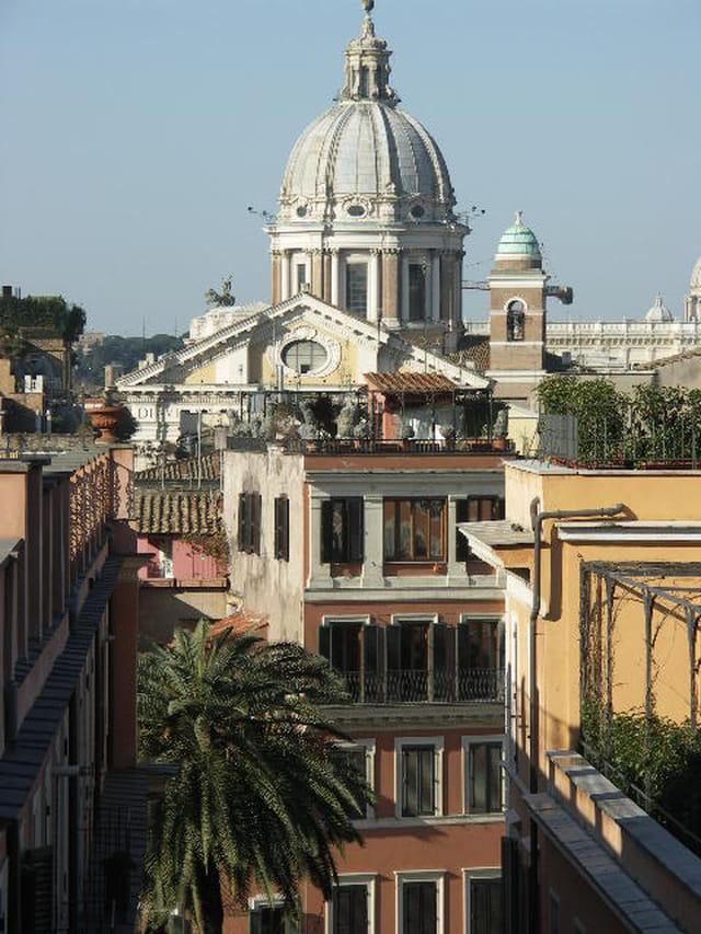 Rome le matin