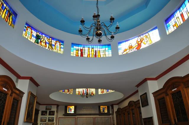 rondes de vitraux