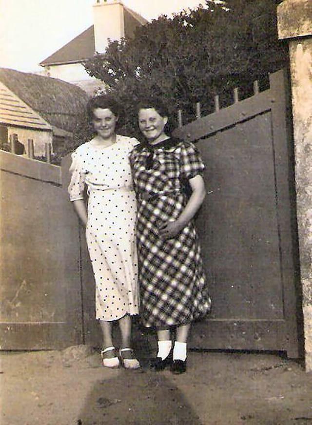 Rosa et dona à la mode en 1937