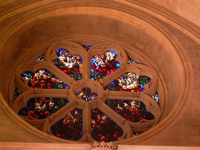 Rosace chapelle ste anne
