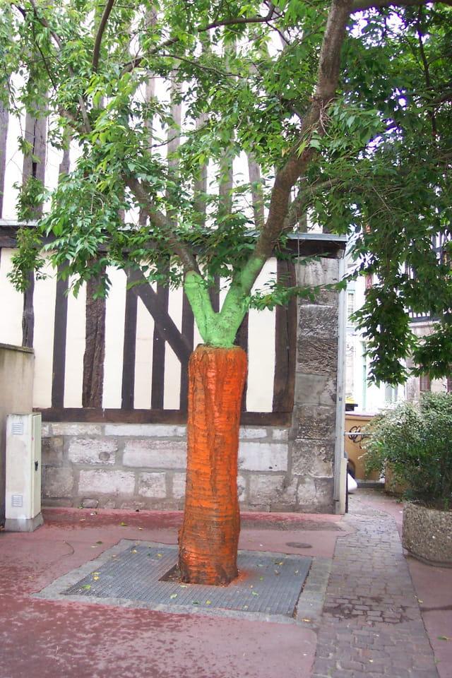 Rouen arbre carotte par francoise simon gharbi sur l - Arbre a carotte ...