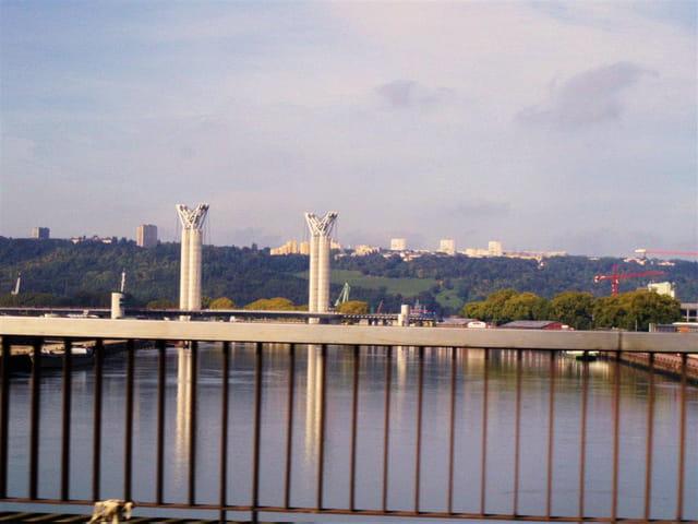 Rouen - le 6ème pont sur la Seine