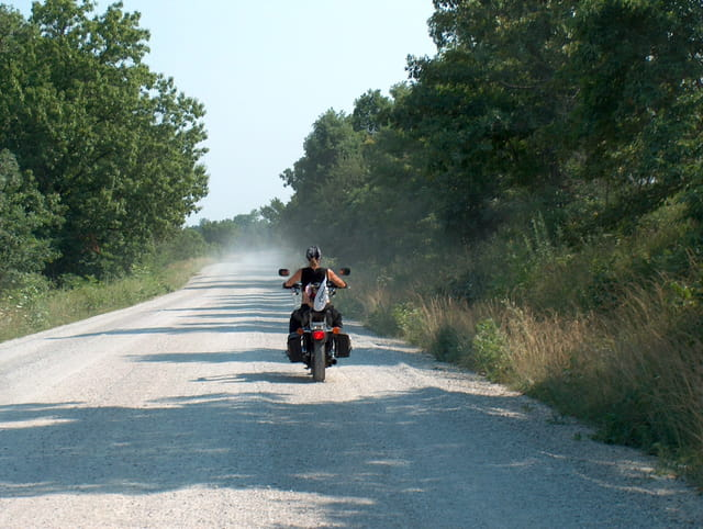 Route 66 by bike