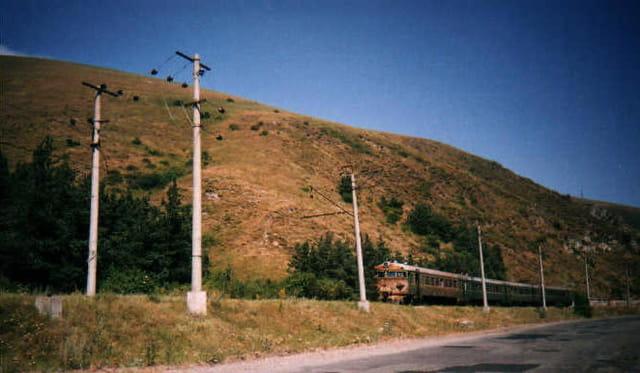 Route autour du lac Sevan - Arménie