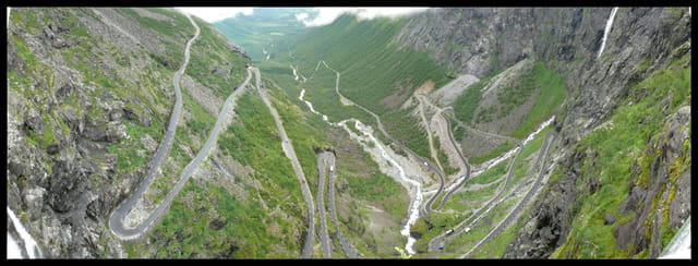 Route des Trolls : panorama