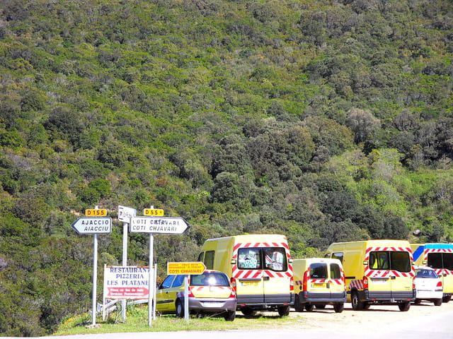 Route entre Ajaccio et Propriano (4)