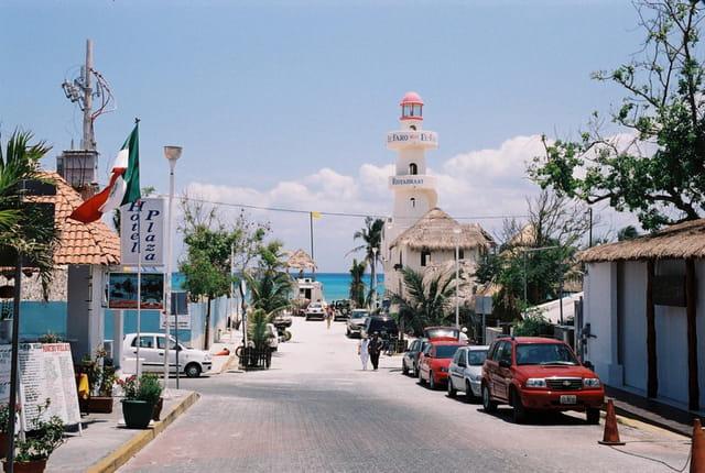 Rue de Playa del Carmen