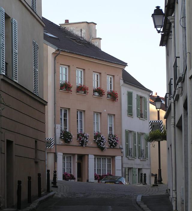 Rue de Saint Germain, au Pecq