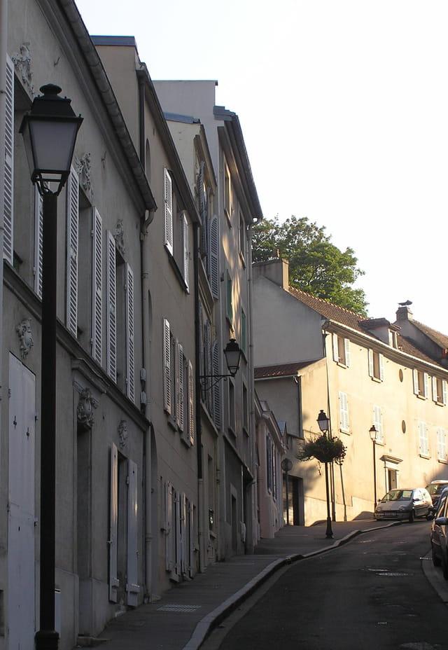 Rue de St Germain, au Pecq