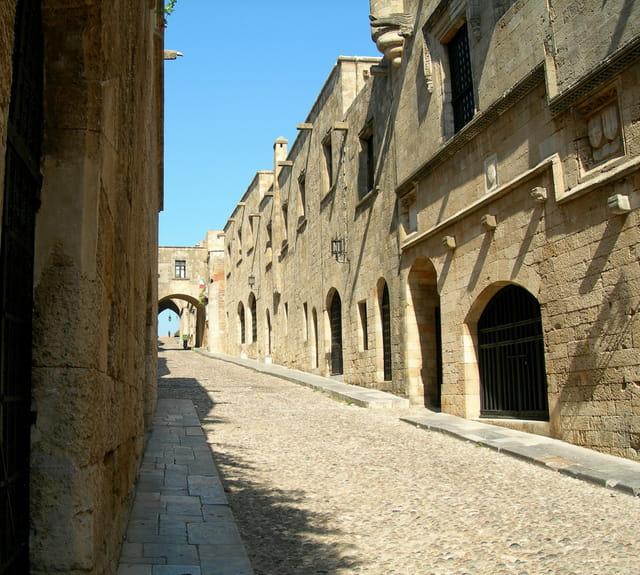 Rue des chevaliers