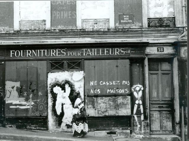 Rue des partants